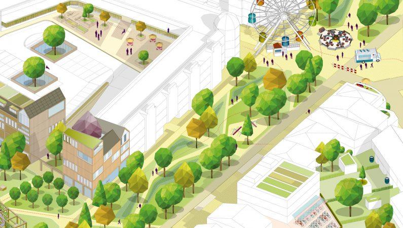 Weerbaar Weert Geschiedenis als inspiratie voor een koele, groene en leefbare binnenstad