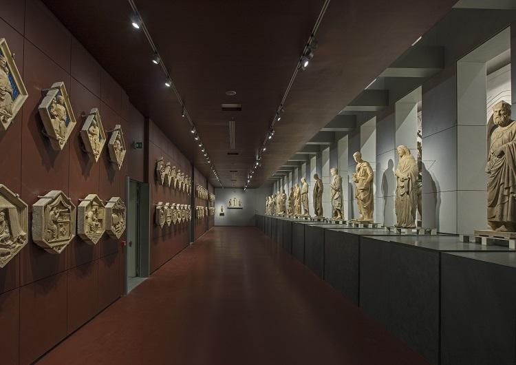 (6) Museo dell'Opera del Duomo, Galleria del Campanile, foto Antonio Quattrone