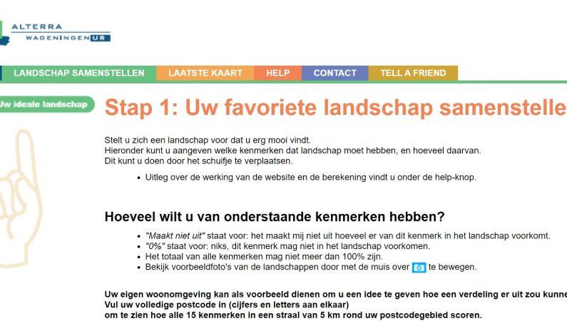 Nederlandse landschapsvoorkeuren Twee rapporten