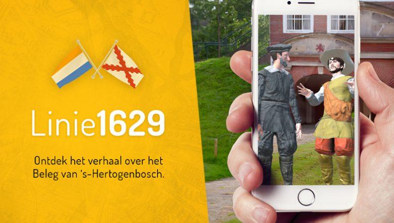 Erfgoed op de kaart met de app 'Linie 1629'