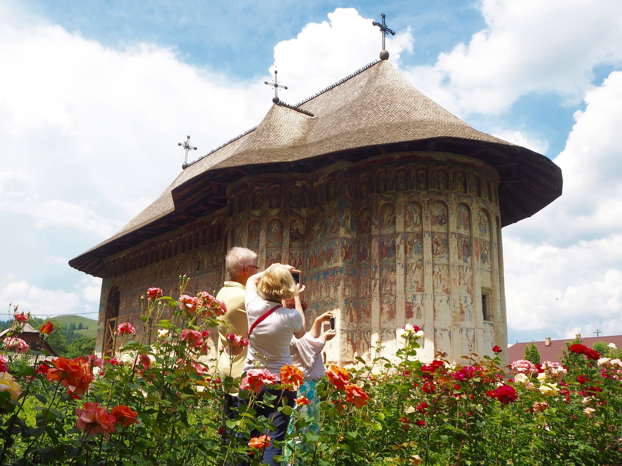 Monastery Bukovina Romania