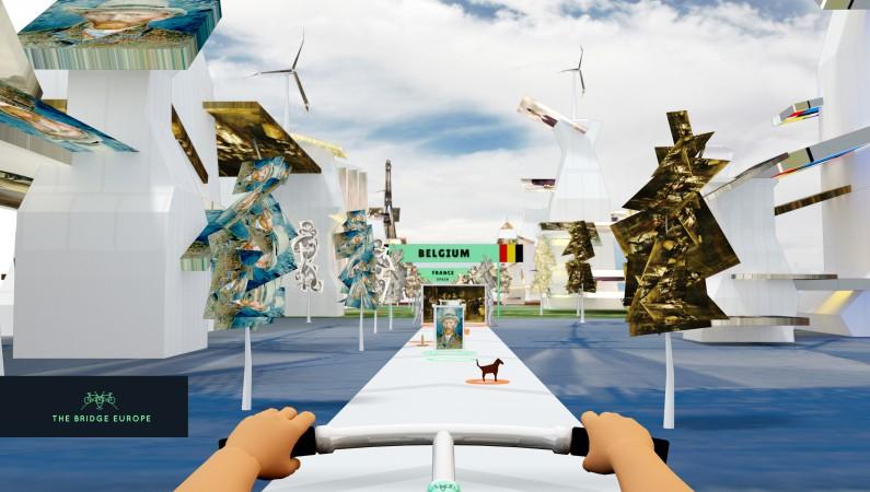 Geschiedenis in 3-D erfgoedbeleving en virtual reality