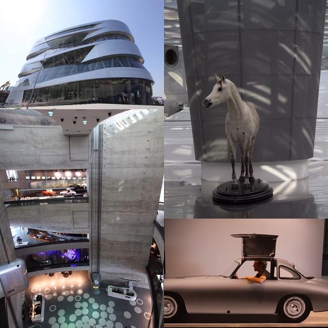 Mercedes-Benzmuseum in Stuttgart