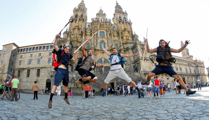 pilgrimage Santiago de Compostela cathedral